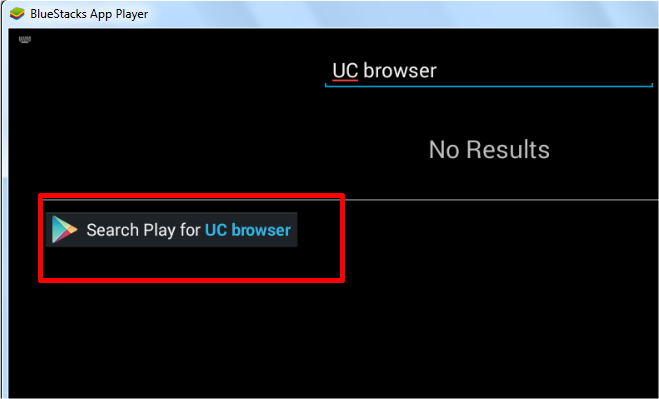 uc browser bluetsacks