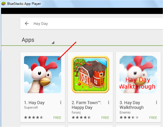 install Hay Day for PC