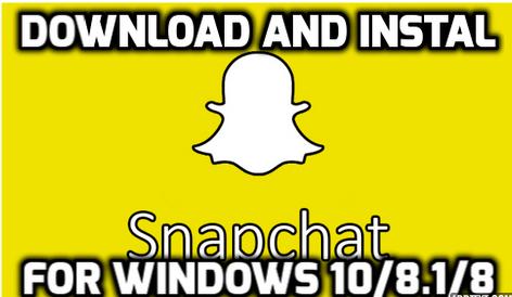 snapchat for windows pc laptop