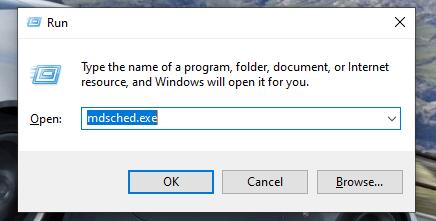 Press Windows + R