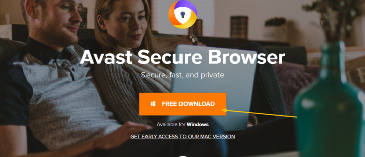 Download Avast Secure Browser on Windows 10